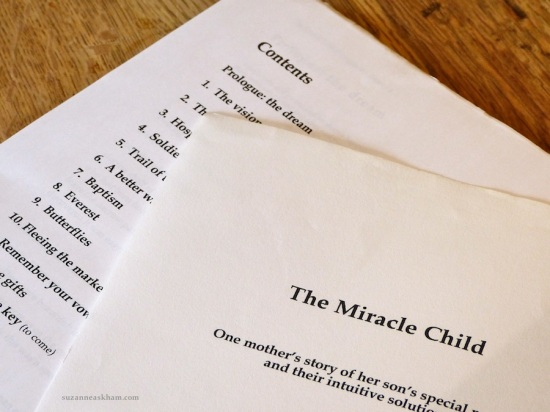 Retrieving the miracle child
