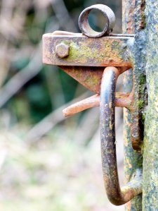 Latch closed