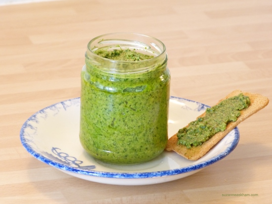 Wild garlic pesto
