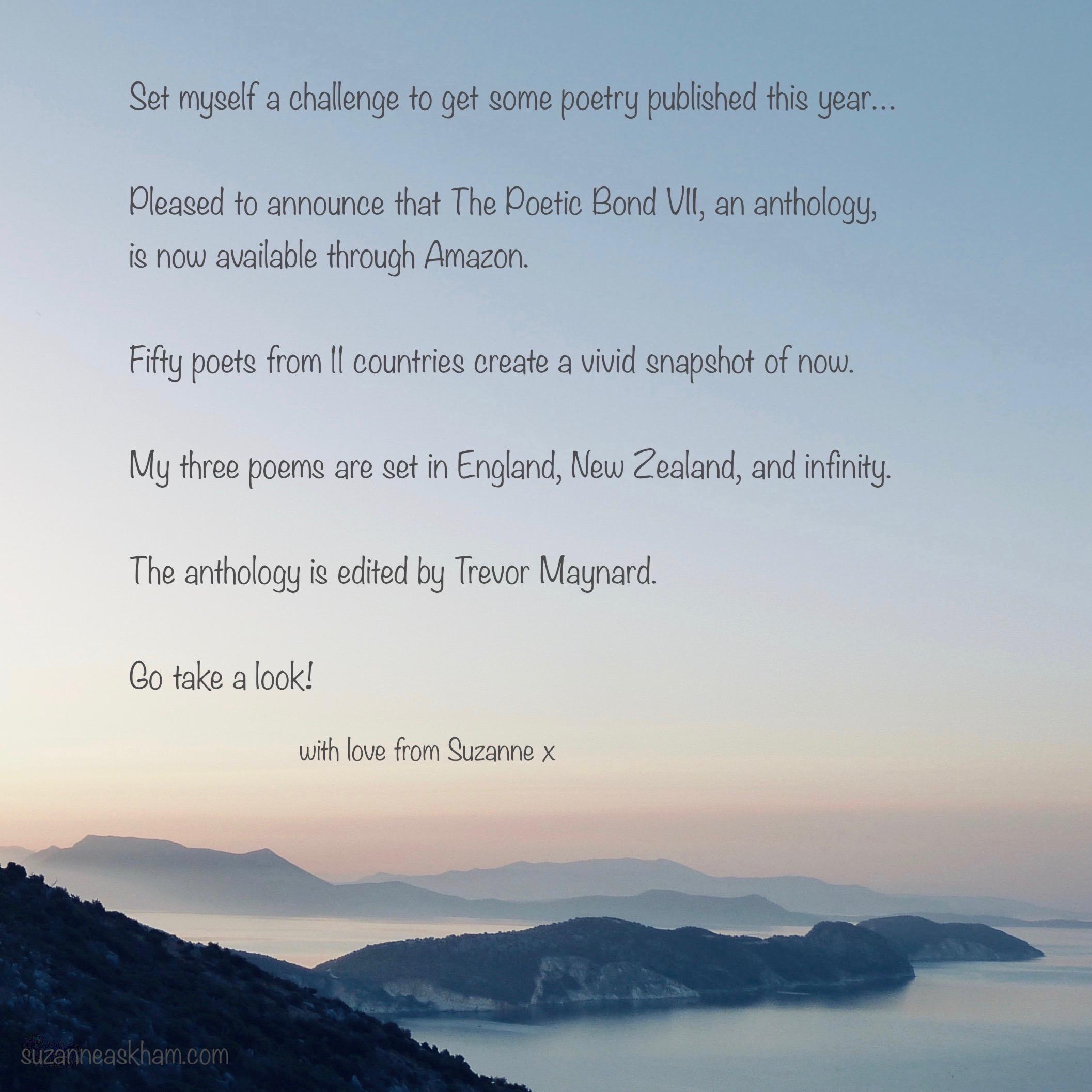 The Poetic Bond announcement 2